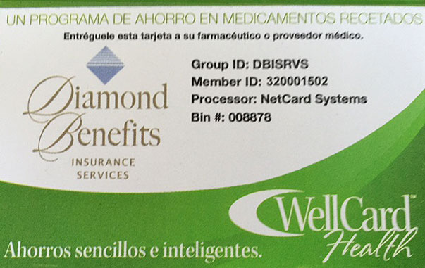 diamond wellcard spanish
